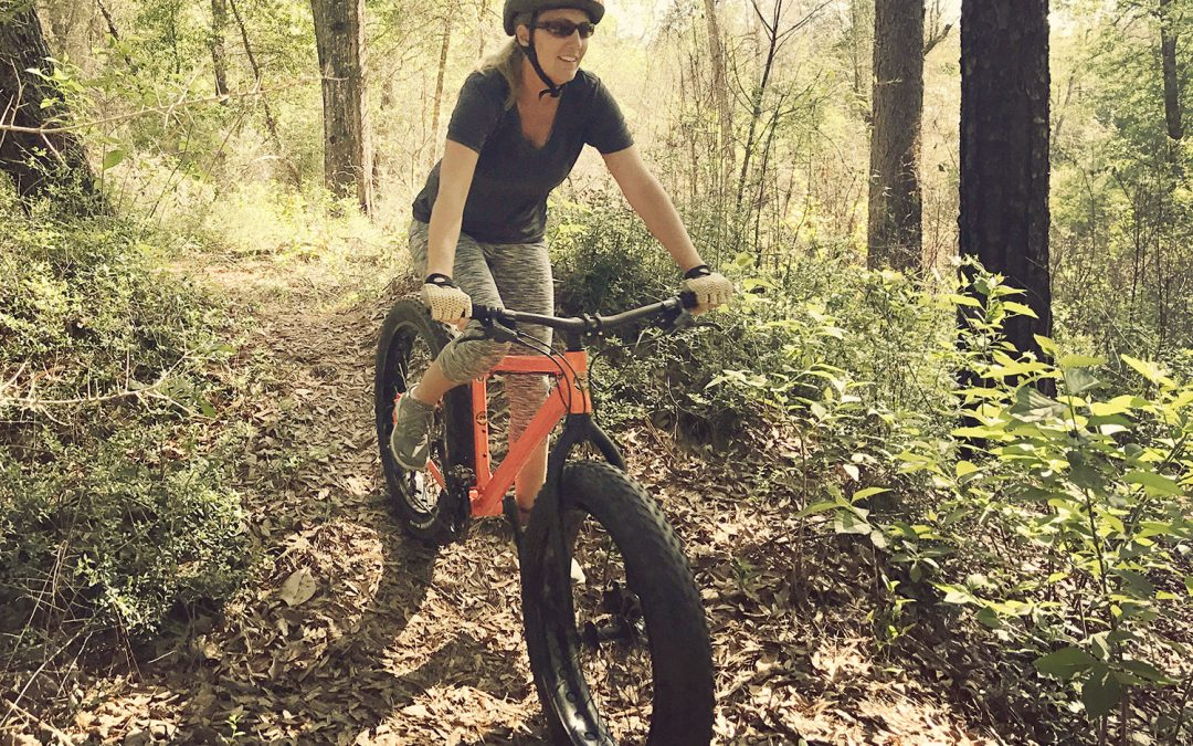 Pensacola Mountain Bike Tours has added a Blackwater State Forest fat bike tour!
